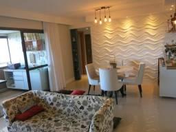 Apartamento Alphaville Cosmopoltan 3 Quartos 107m² Nascente Finamente Decorado Vista Lagoa