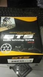 Freio Disco Bike Gts Hidraulico Preto + Disco 160mm Completo