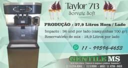 Máquina taylor painel touch comercialize sorvete soft