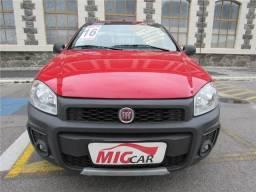 Fiat Strada 1.4 mpi working cs 8v flex 2p manual - 2016