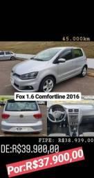 Fox comfortline 1.6 2016 Super oferta! - 2016