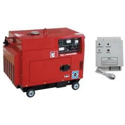 Gerador de Energia 6,5kva trifásico Silenciado e Automático - Novo, na Caixa