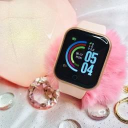 Smartwatch relógio inteligente fit pró monitor de batimentos