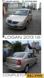 Logan 2013 1.6 completo novo D +++