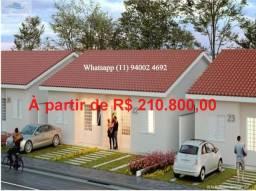 Ultimas casas , entrada parcelada , pode usar FGTS , Alta Vista Campo Limpo Pta