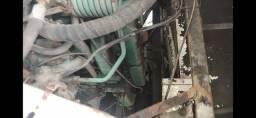 Motor Scania com baixa