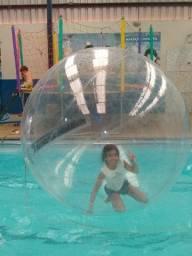 Water ball 1,80 zíper, bolha aquática