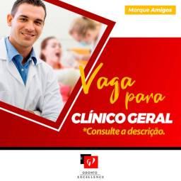 Vaga para Dentista Clínico Geral ou Ortodontista