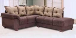 Vendo sofá de canto 5 lugares