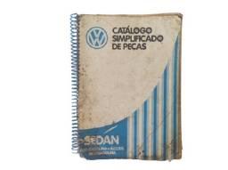 Catálogo Simplificado Peças Fusca 1300 1600 Gasolina Álcool