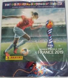 Álbum de figurinhas futebol feminino França 2019
