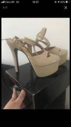 Sandália Inspiração Gucci
