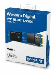 SSD Western NVME M.2 Digital Blue 250GB WD SN550, , novo, original, lacrado