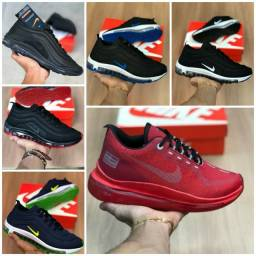 Vendo tênis Nike AirMax 97 e Fila Esportivo ( 120 com entrega)