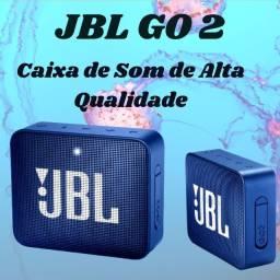 Caixa bluetooth JBL Go2 - alta de qualidade de graves