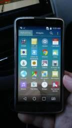 Celular LG D337 TV digital.