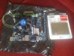 Kit 1151 intel ® celeron 2.8 6ª geração com 2 mb de cache
