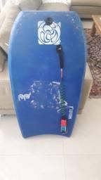 Prancha de bodyboard + pé de pato kpaloa.