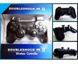 Controle PS3 sem fio com garantia Promocao