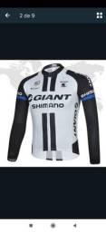 Título do anúncio: Conjunto Ciclismo profissional camisa e calça ciclista
