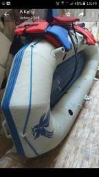 Bote inflavel seahawk II Marca Intex usado.