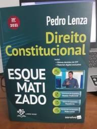 Livro Direito Constitucional Esquematizado - 25ª Edição 2021 - Pedro Lenza