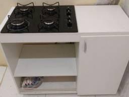 Vende-se fogão Cooktop com armário