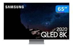 Smart TV 8K qled 65? 2020 Samsung 65Q800T - 10 meses de uso