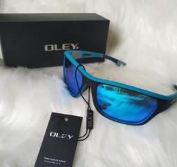 Óculos De Sol Polarizado Uv400 Original Oley Esportivo