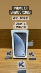 iPhone XR Branco 128gb novo lacrado
