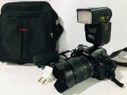Kit câmera em ótimo estado
