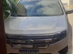 Ford fusion 2.5 sem. aut.4 porta completo branco ano 2011 modelo 2012