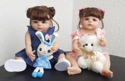 Bebê Reborn Keiumi  Silicone, Menina  55 cm Completa  Disponível Grátis Smartwatch