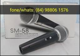 Microfone com fio profissional