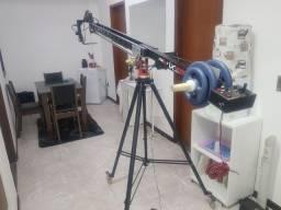 Vendo Mini Grua Maxi IX-2000 Para Filmagens Dslr e Câmera Profissionais 3 Metros