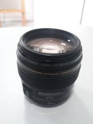 Lente Canon 85mm 1.8 USM - Somente Venda