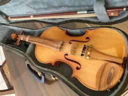 Violino 3/4 Nuhreson - madeira exposta