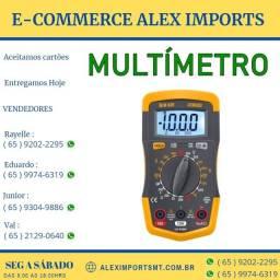 Multímetro Digital Hikari Hm-2010 Medidor Barato Mutimetro