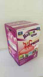 Gás Helio Cilindro Portatil Até 50 Balões Ballon Time