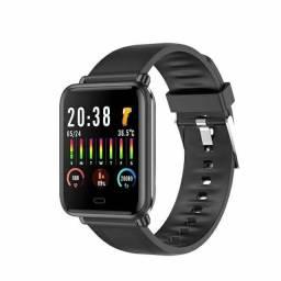 Smartwatch Q9T pressão temperatura oxímetro