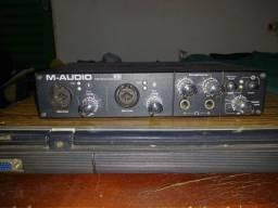 Placa de áudio M-Audio Profire 610 24bit