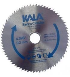 Título do anúncio: Disco de Serra Circular 110Mmx20Mm 72 Dentes Kala