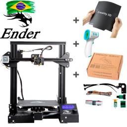 Maquina 3D Ender 3 PRO + Diversos Complementos