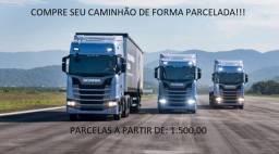 Caminhão de Forma Parcelada!!