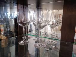 Conjunto taças de água - cristal