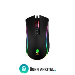 Mouse Gamer Evolut Eg106 Skadi 4800Dpi Rgb Led Rainbow Usb