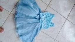 Vestido sofisticado M (1 a 4 anos)