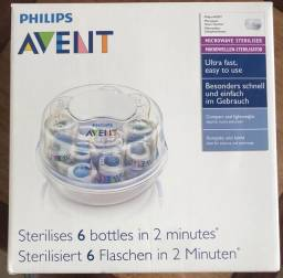 Esterilizador de mamadeira Avent Philips Microondas