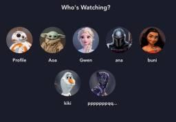Tela Disney+ Plus