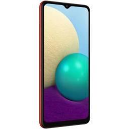 Samsung Galaxy A02 32GB Vermelho 4G - Quad-Core 2GB Ram 6,5? Câm. Dupla + Selfie 5MP